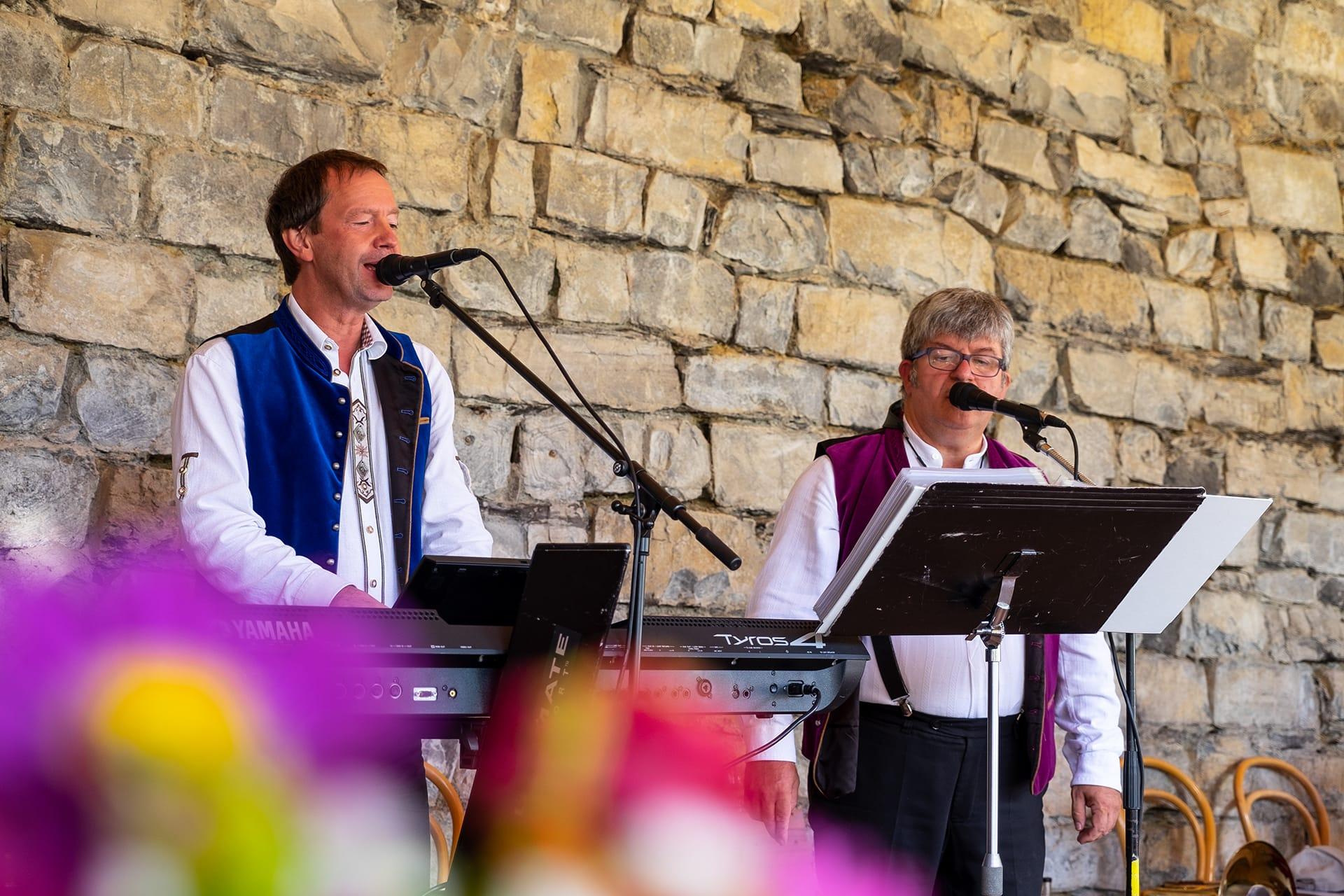 Stefan Ruchti & Sami Hess sorgten für die musikalische Gestaltung des Nachmittags.