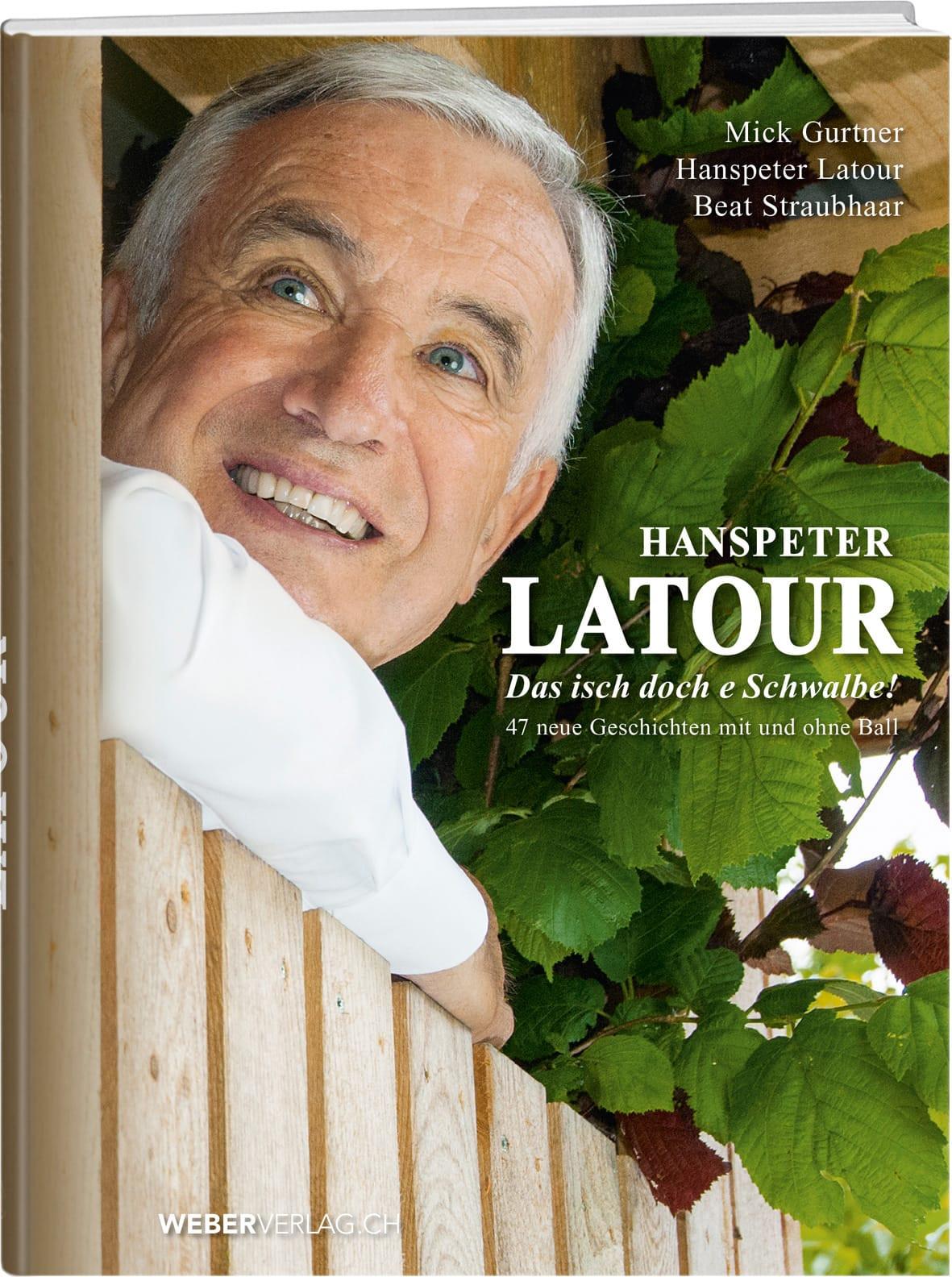 Buchcover Hanspeter Latour